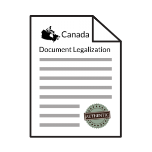 canadian document legalization