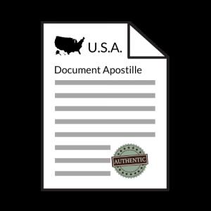 US document apostille